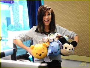Christina Grimmie Visits Radio Disney